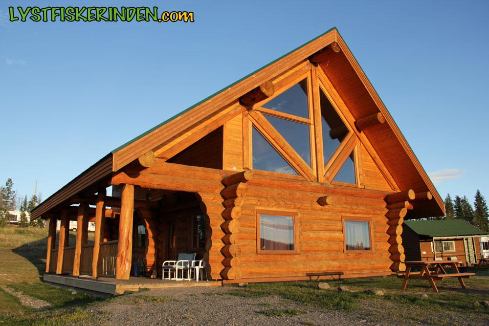 Luksus-hytten hos Tunkwa Lake Resort