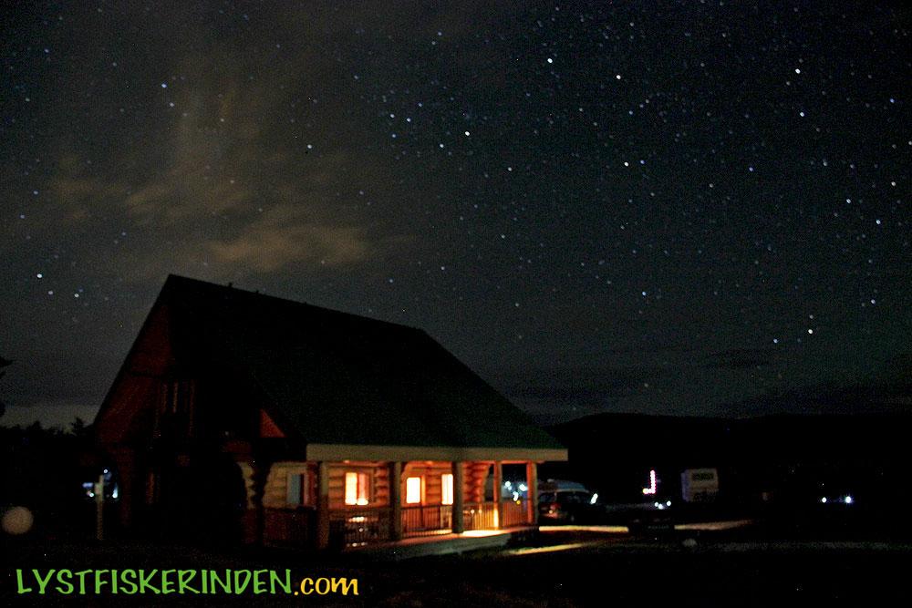 Stjerneklart ved Tunkwa Lake Resort